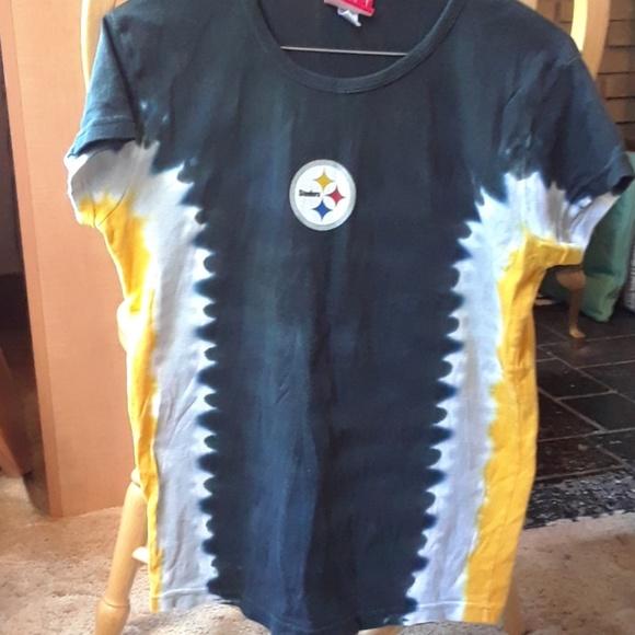 Pittsburgh Steelers tie dye t-shirt 6753f8ab6